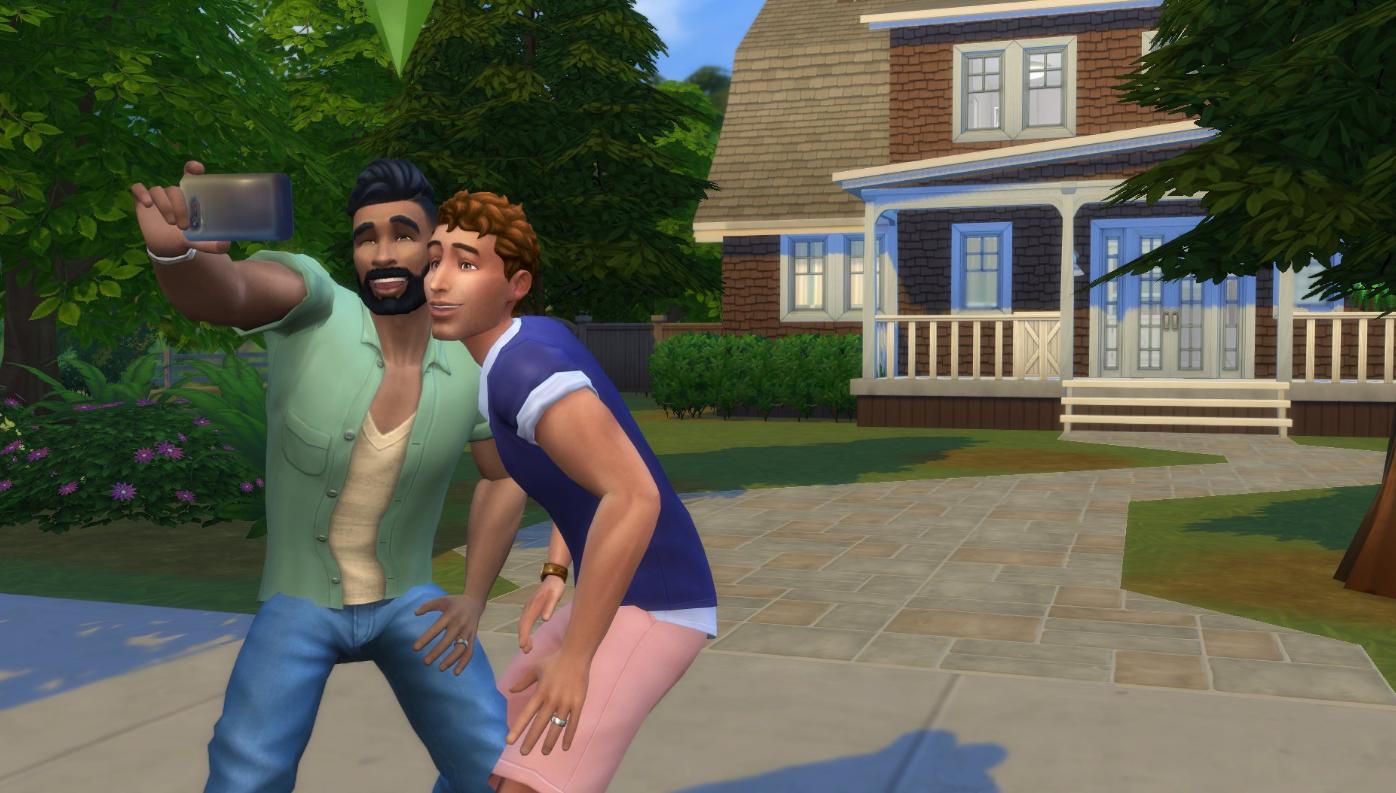 Игра «Sims»
